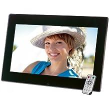 Intenso Mediacenter Digitaler Bilderrahmen (39,6 cm (15,6 Zoll) LCD-Display, Videofunktion, MP3-Funktion, Diashow, Fernbedienung) schwarz