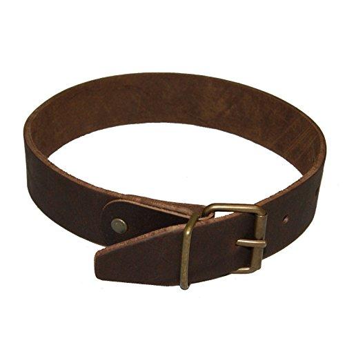 Schultergurt Verlängerung 50 cm, antikbraunes Leder für 3 cm Trageriemen