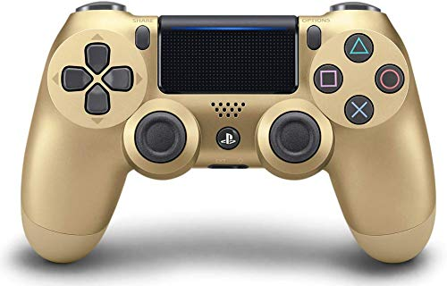 miss-an Ps4 Dualshock 4 Controller, kabellos, PS4, kompatibel für PC Playstation 4/Playstation 3/Windows Spiele-Controller Gold (Playstation 4 Controller-bildschirm)