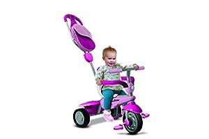 Smart Trike Breeze GL Pink Kind Dreirad Baby Rutschfahrzeug Kinderwagen
