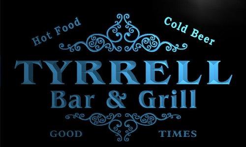 u45989-b TYRRELL Family Name Bar & Grill Home Decor Neon Light Sign Barlicht Neonlicht Lichtwerbung