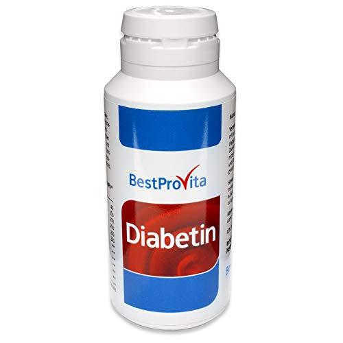 Bestprovita Diabetin Vitalstoffe hochkonzentriert, Magnesium, Vitamin B12, Zink -