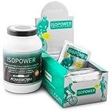 iSOPOWER (Boisson rehidratante et récupérateur professionnelle) supplément et nutrition sportive