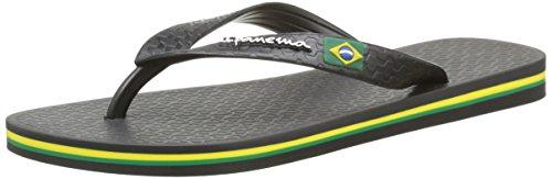 Ipanema Classic Brasil Ii Kids, Tongs Mixte Enfant Noir (Black)