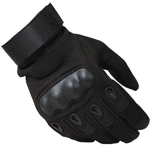 Blansdi Taktische Handschuhe Motorrad Sommerhandschuhen Herren Vollfinger Handschuhe mit Gepolstertem Rückenseite Belüften Verschleißfeste Geeignet für Airsoft Militär Fahrrad Outdoor Aktivitäten