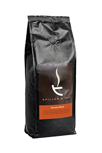 Spiller & Tait Barista Blend Coffee Beans 1kg Bag - Fresh Roasted - Suitable for all Coffee Machines