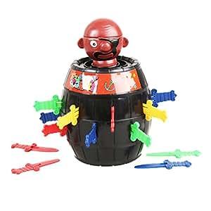 New Dr?le De Lucky Stab Pop Up Toy Gadget Pirate Barrel Enfants Enfants Jouets Jeu
