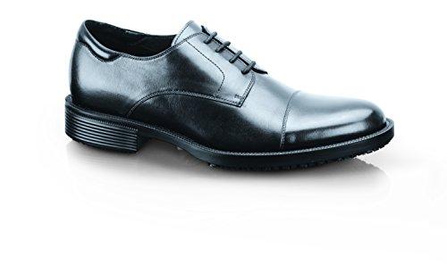 -09-46/11/12 SENATOR Rutschhemmende Schuhe aus Leder für Herren, Größe 46 EU, Schwarz ()