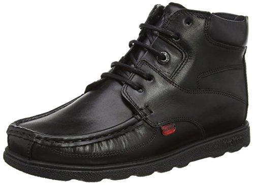 Kickers Jungen Fragma Boot Kurzschaft Stiefel Black (Black)