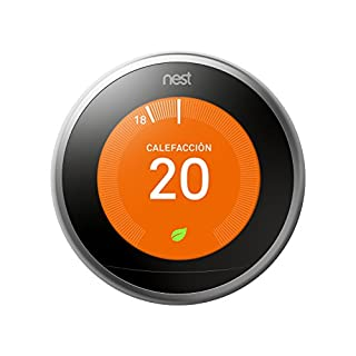 Nest T3010IT Termostato, Acero (B01N7MAAWF) | Amazon price tracker / tracking, Amazon price history charts, Amazon price watches, Amazon price drop alerts
