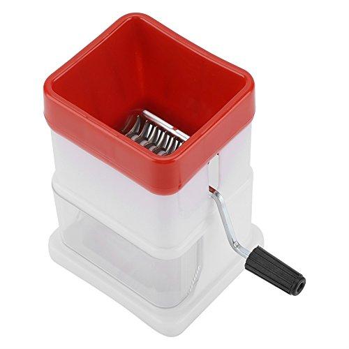 tragbare Handkurbel Eiscrusher Rasierer Zerkleinerungsmaschine Brecher Schneekegel Maker Obst für Home Commercial ()