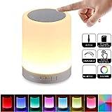 Wallfire Smart Touch Lamp Wireless Bluetooth Lautsprecher LED Bunte Nachtlicht Lautsprecher