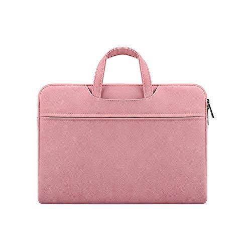 Leichte und tragbare wasserdichte Laptoptasche Mode Laptoptasche Notebooktasche - Pulver -15.4inch -