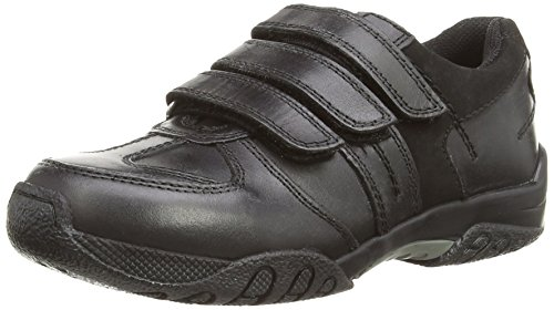 Hush Puppies - Mocassini, Bambino Black (Black)