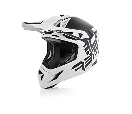 Acerbis casco x-pro vtr nero/bianco l