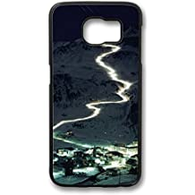 iCustomonline Skiers Mont Blanc Glaciers To Val D'Isere France Case for Samsung Galaxy S6