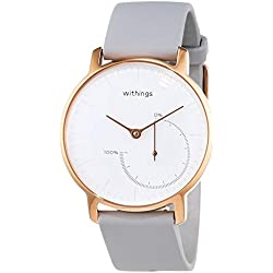 Withings HWA01-All-Inter Montre connectée Femme, Or Rose, Medium