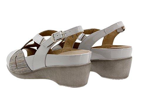 Chaussure femme confort en cuir Piesanto 1155 sandales à semelle amovible confortables amples Perla