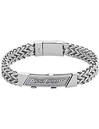 Diesel Bracciale da Uomo acciaio inossidabile argento dx1033040