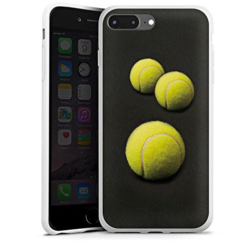 ülle kompatibel mit Apple iPhone 7 Plus Case Schutzhülle Tennis Ballons Baelle ()