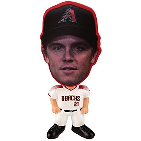 MLB Arizona Diamondbacks Zach Greinke Unisex Greinke Z. #21 Flathlete Figurine, One Size