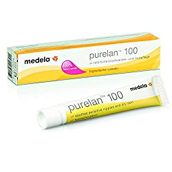 Medela PureLan 100 Creme Tube, 7g, Lanolin Brustwarzensalbe