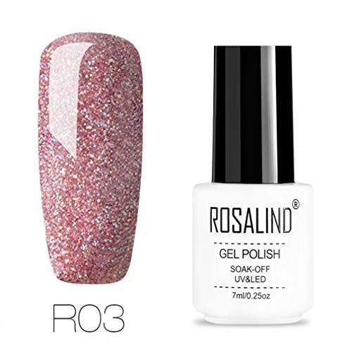 Gel Nails Rainbow Gel 7ML UV Led Gel Nail Polish Soak Off Nail Polish Nail Art UV&LED Gel Varnish