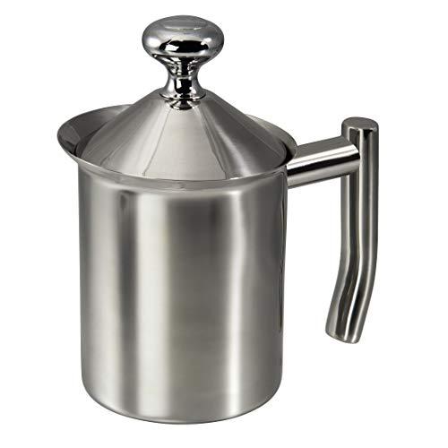 Xavax Milchaufschäumer, 400 ml, Edelstahl, Milk Booster