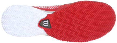 Wilson Wrs316970E115, Chaussures de tennis homme Rouge (Red)