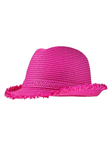 maximo Mädchen Hut Trilby, Rosa (dunkelpink 57), Gr. 55