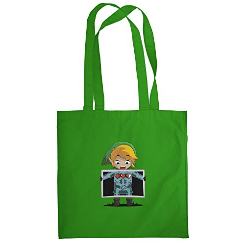 Texlab–X Ray Link–sacchetto di stoffa Verde