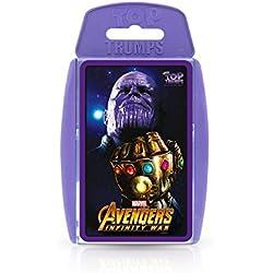 Top Trumps 032742 Avengers Infinity - Juego de cartas de guerra