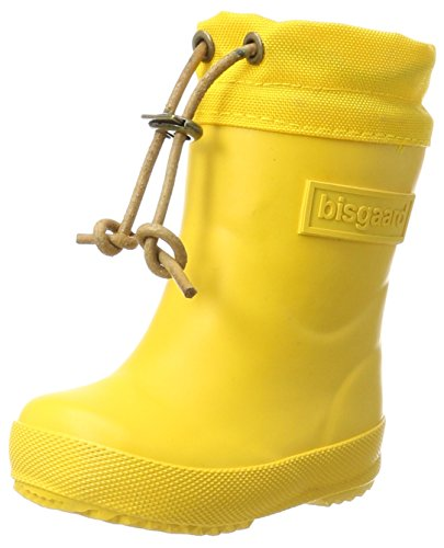 Bisgaard Unisex-Kinder Winter Thermo Gummistiefel, Gelb (80 Yellow), 26 EU