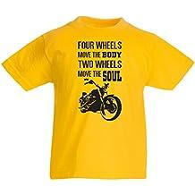 N4685K La camiseta de los niños The bike t shirts