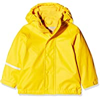 CareTec Kids Rain Jacket with Fleece Lining, (Yellow 324), 86
