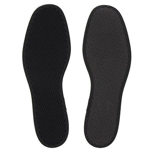 Bama Deo Activkohle Schuh-Einlegesohlen, Für ein Frischegefühl bei langem Tragen, Unisex, Größe: 44, Schwarz - 5