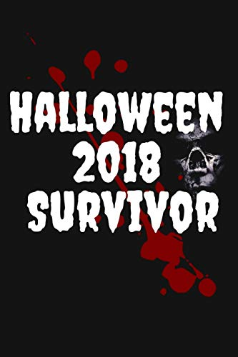 Halloween 2018 Survivor: Truck or Treat Scary Halloween Lined Journal (Halloween Monster Truck)