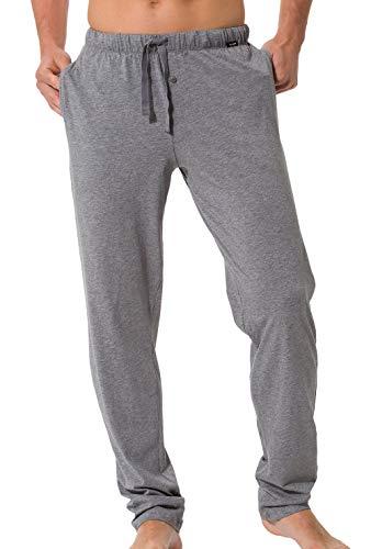 Skiny Herren Recreate Sleep Hose lg. Schlafanzughose, Grau (Smoke Grey Melange 5332), X-Large (Männer Für Sleep-lounge-hosen)