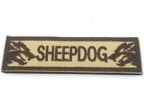 Schäferhund Cosplay Bestickt Airsoft Klett-Patch Hautfarben, 95mm x 25mm (Punisher Camo)