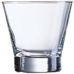 Luminarc Shetland - Estuche de 3 vasos, forma baja, 32 cl