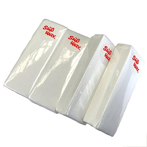 400 Süß Wax Vliesstreifen für Haarentfernung, Wachspatronen, Epilation, Sugaring und Waxing -