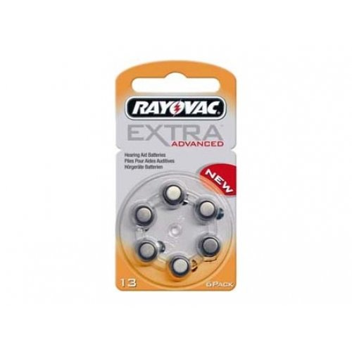 rayovac-extra-advanced-batterie-pour-prothese-auditive-type-ref-13-6-unites-sous-blister-14v-zink-lu