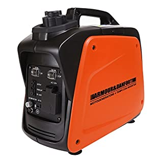 Armour & Danforth TMX 5157 Generator Inverter, 4-Takt, 1000 W, 230 V, Orange