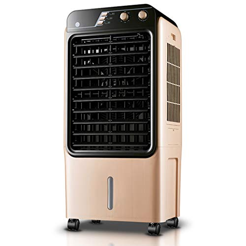 MENA Uk Goldener beweglicher Kühlventilator, einzelner kalter mechanischer industrieller Klimaanlagenventilator -150W