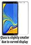 NishTech 2.5D Tempered Glass Screen Protector For Samsung Galaxy A7 (2018) Full Screen