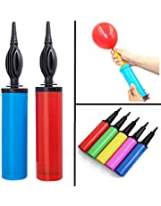 Enjoy Handy Air Balloon Pumps for Foil Balloons and Inflatable Toys Party Accessory (Set of 2, Size 27cm, Multi Color)