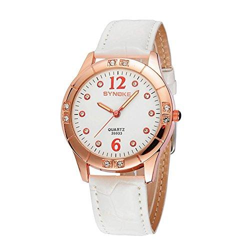 Hochwertig Damen beiläufige Quarz automatische Armbanduhr für Frauen Diamant Armbanduhr Damen Uhren Datumjust Uhr , white - Face Damen Dual Uhr