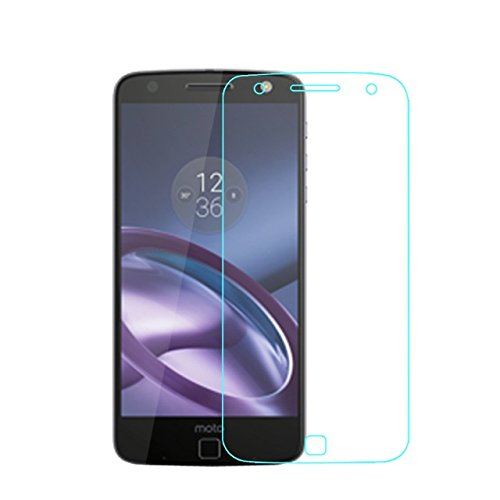 Clorox Tempered Glass with Alcohol Wet Cloth Dry Cloth, Ultra Clear Anti Explosion,Pro+ 2.5D Pro Glass for Motorola Moto Z Play (Multicolour)