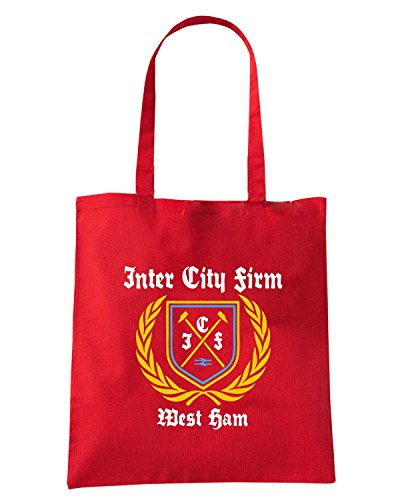 T-Shirtshock - Borsa Shopping TR0076 inter city firm icf t-shirt Rosso