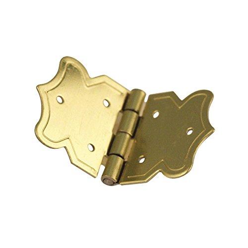 Rayher - 8955906 - Zierscharniere, 20x37 mm, verm. SB-Btl.4 St. mit Nä